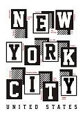New York City T-shirt Graphic