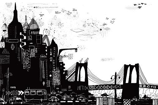 New York City vector illustration