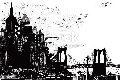 istock New York City vector illustration 911995604