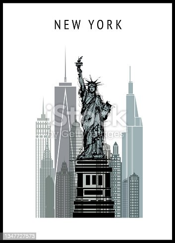 istock New York cityscape with Liberty statue 1347727573