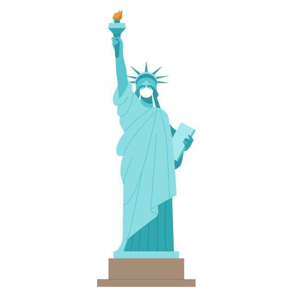 ニューヨークコロナウイルスパンデミック。 - corona newyork点のイラスト素材/クリップアート素材/マンガ素材/アイコン素材