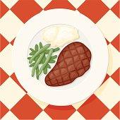 istock New York Cut Steak 136890734