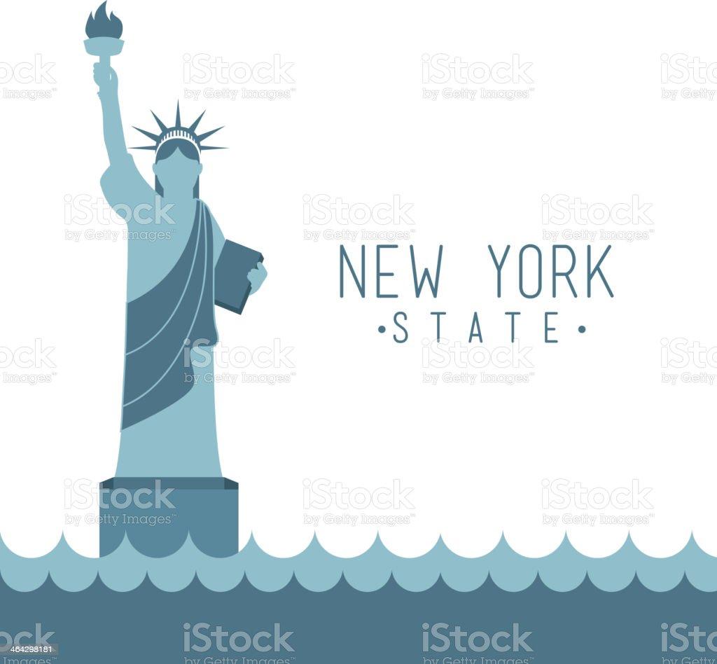 New York Design, Vector illustration vector art illustration