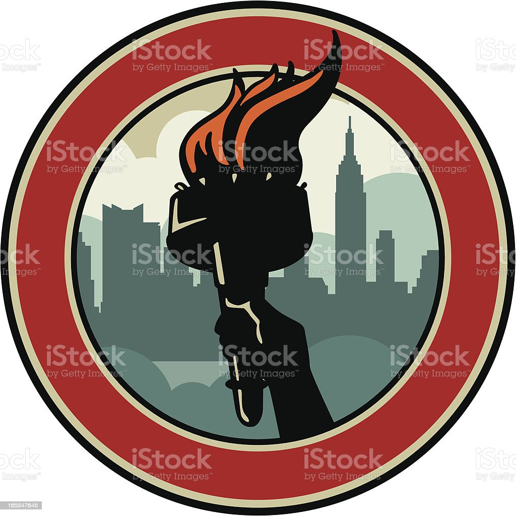 new york emblem royalty-free new york emblem stock vector art & more images of architecture