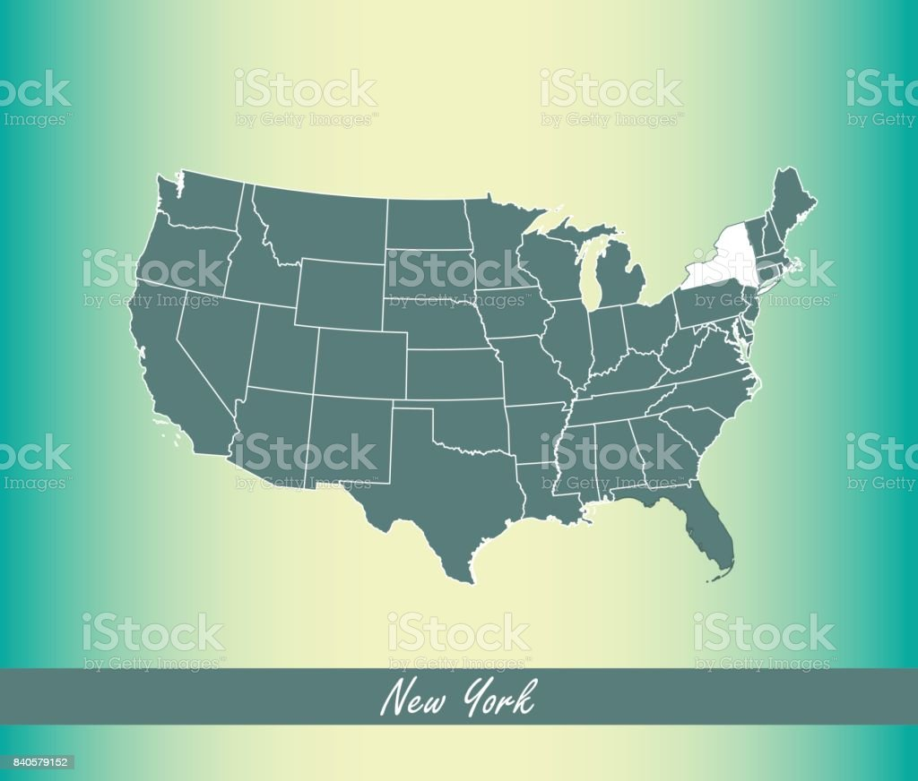 US Maps USA State Maps Usa Outline Map Vector Free Maps Of USA