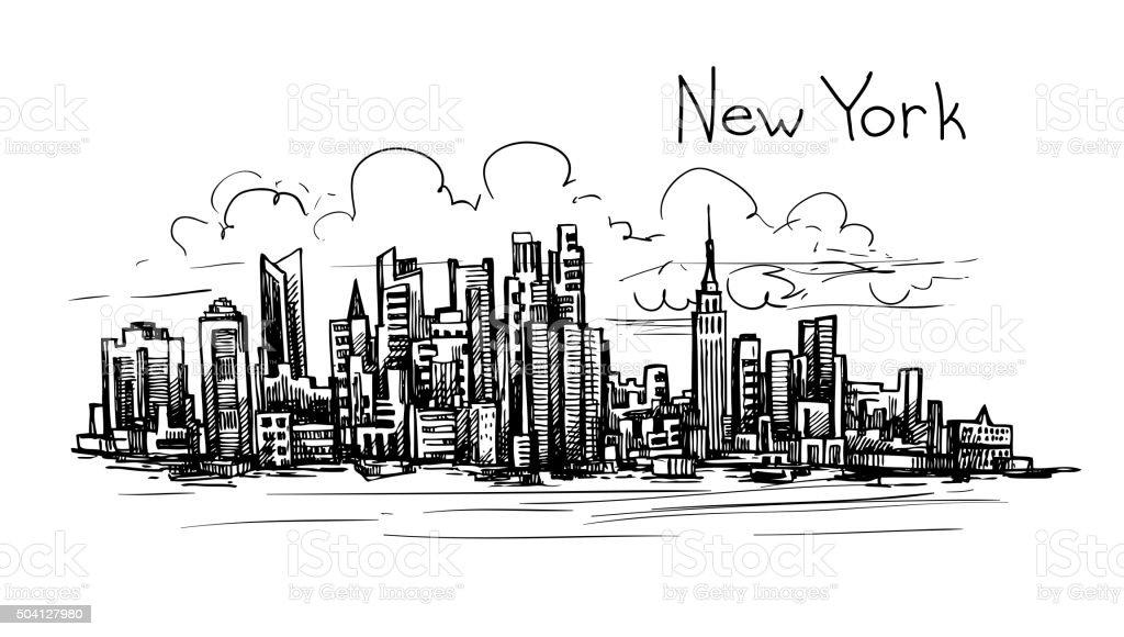 Resultado de imagen de NUEVA YORK DIBUJO
