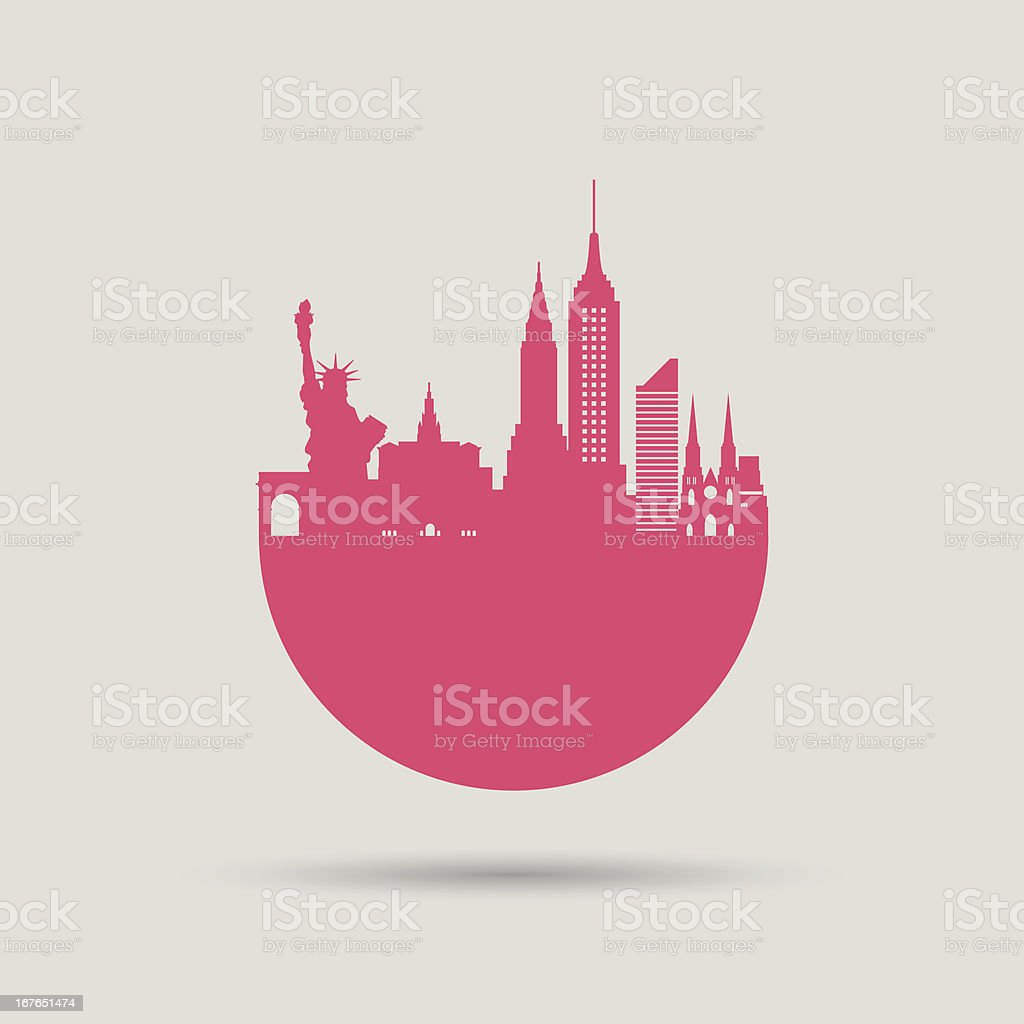New York Skyline royalty-free new york skyline stock vector art & more images of architecture