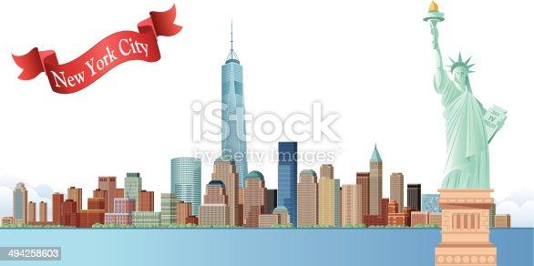 istock New York Skyline 494258603