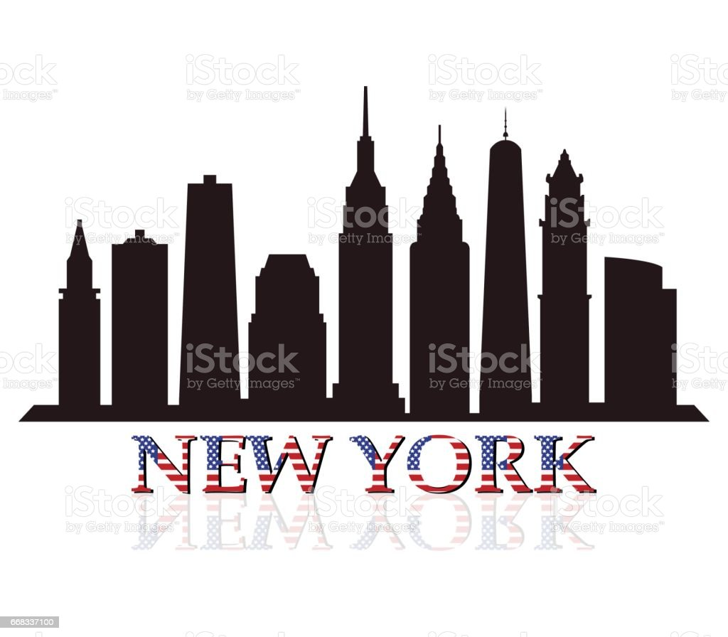 New York Skyline Stock Vector Art More Images Of Architecture Istock