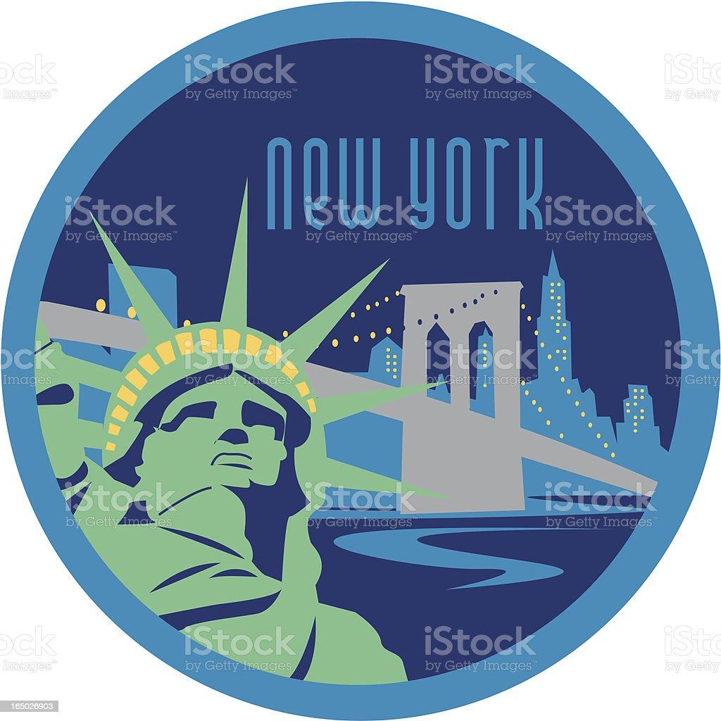 New York Skyline - Vector royalty-free new york skyline vector stock vector art & more images of bridge - built structure