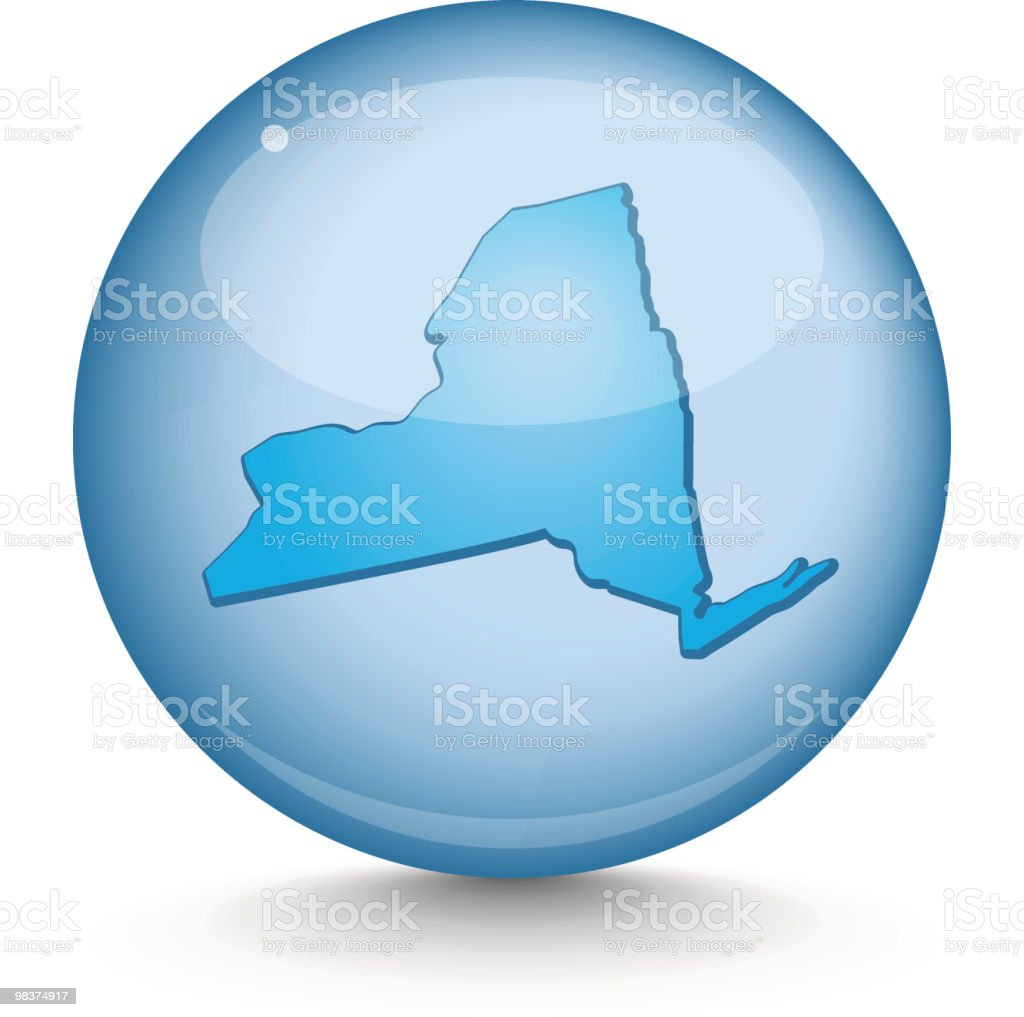 New York - Sphere State Series royalty-free stock vector art