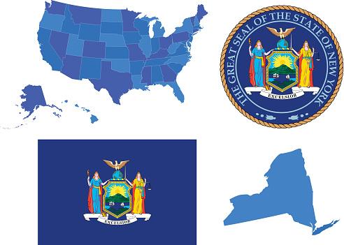 New York state set