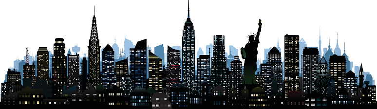 New York (All Complete, Moveable, Detailed Buildings)