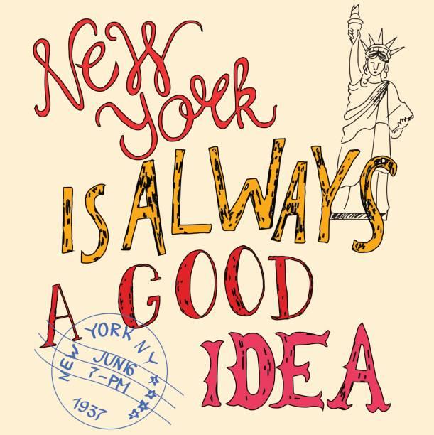 New York – Vektorgrafik