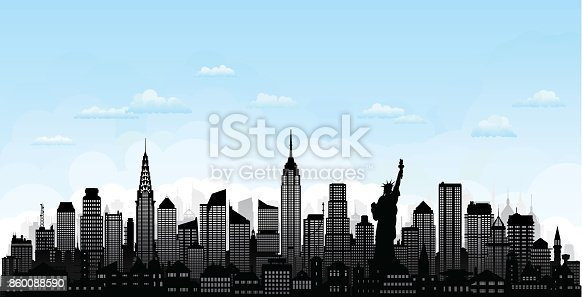 New York City. All buildings are complete, moveable and highly detailed.