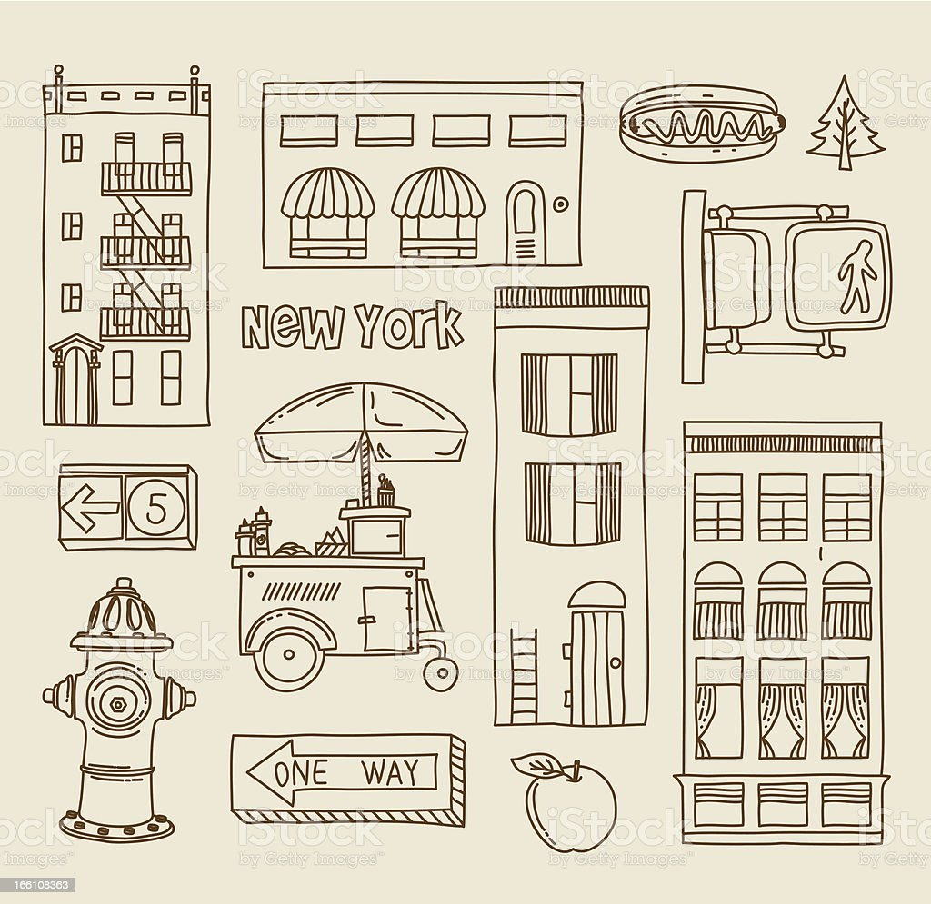 New Yourk royalty-free new yourk stock vector art & more images of apartment