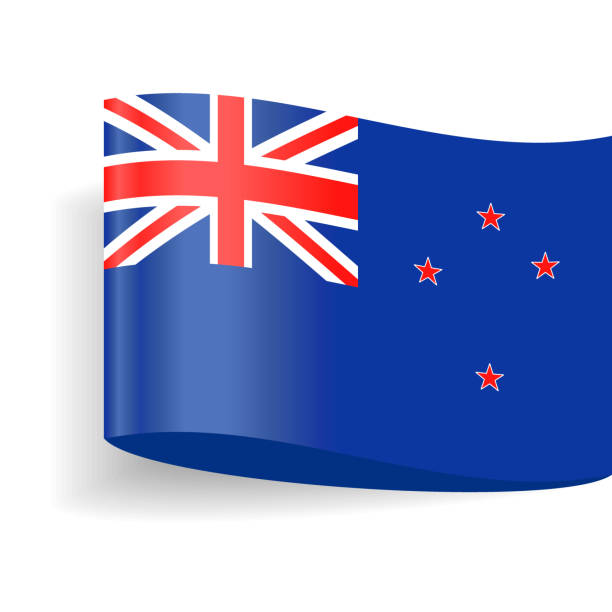 Best New Zealand Flag Illustrations, Royalty-Free Vector ...
