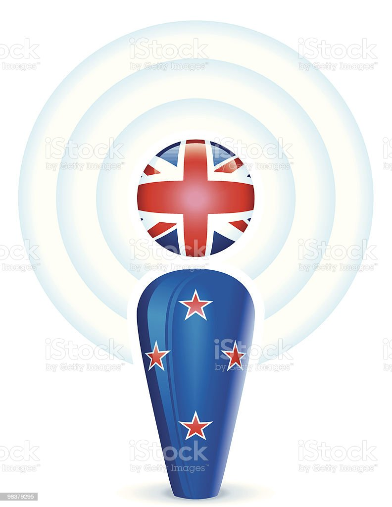 New Zealand Podcast royalty-free new zealand podcast stock vector art & more images of broadcasting