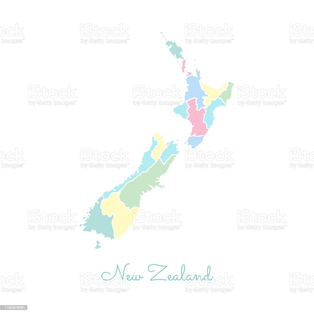 Side T303274rkei Karte.Karte Neuseeland Umriss