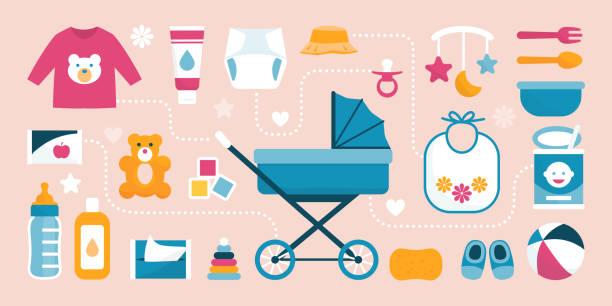 47,699 Baby Stuff Illustrations & Clip Art - iStock
