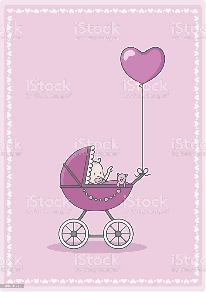 Новорожденный ребенок в коляске фото девочка