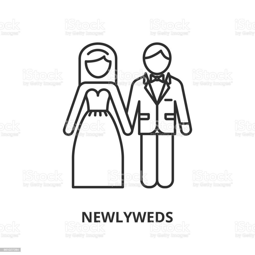 Brautpaar Symbol