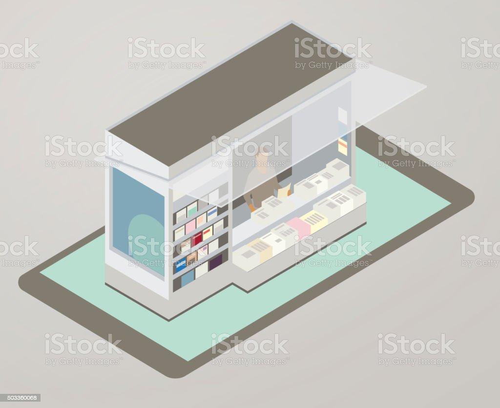 News App Illustration vector art illustration