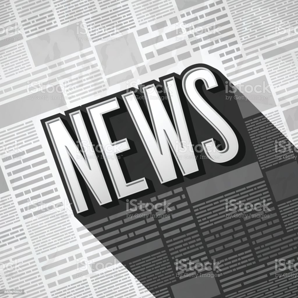 News Background vector art illustration