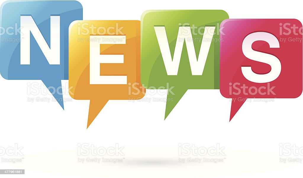 News buttons - vector illustration vector art illustration