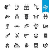 News Event related vector icons