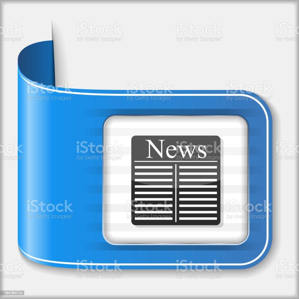 News Icon royalty-free stock vector art