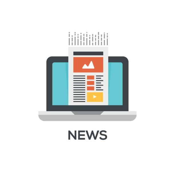 stockillustraties, clipart, cartoons en iconen met nieuws-pictogram - nieuwsevenement