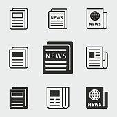 istock News icons set. 942159038