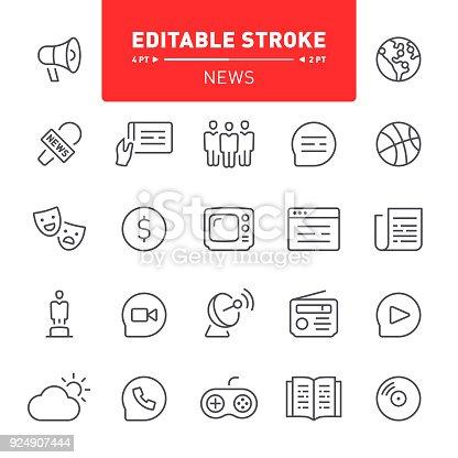 istock News Icons 924907444