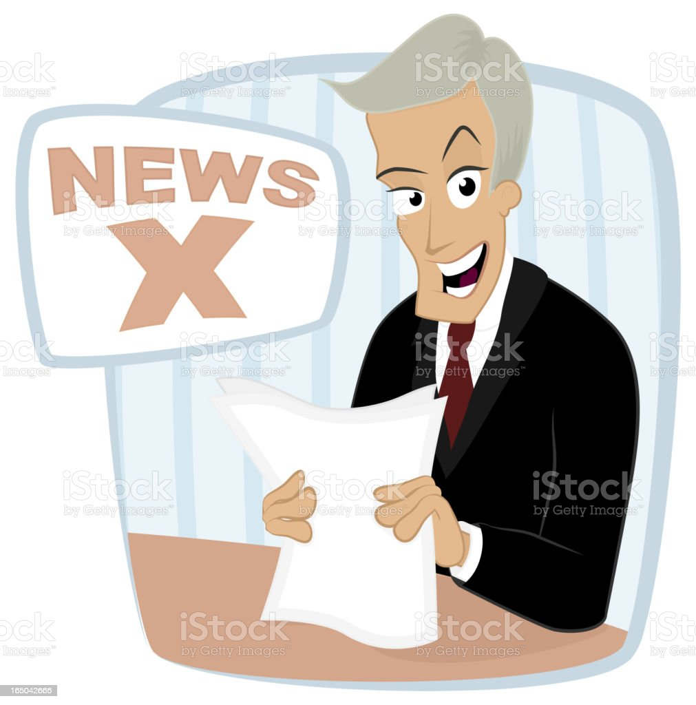 Newscast royalty-free newscast stock vector art & more images of adult