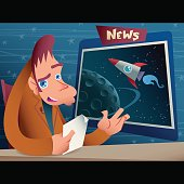 A newscaster presenting a space travel news.  [url=http://www.istockphoto.com/file_closeup.php?id=2885159][img]http://www1.istockphoto.com/file_thumbview_approve/2885159/1/istockphoto_2885159_auction.jpg[/img] [/url] [url=http://www.istockphoto.com/file_closeup.php?id=3055190][img]http://www1.istockphoto.com/file_thumbview_approve/3055190/1/istockphoto_3055190_presentation.jpg[/img] [/url]  [url=http://www.istockphoto.com/file_closeup.php?id=4118491][img]http://www1.istockphoto.com/file_thumbview_approve/4118491/1/istockphoto_4118491_camou_hoodie.jpg[/img] [/url] [url=http://www.istockphoto.com/file_closeup.php?id=2170091][img]http://www1.istockphoto.com/file_thumbview_approve/2170091/1/istockphoto_2170091_scared_of_the_unknown_vector.jpg[/img] [/url] [url=http://www.istockphoto.com/file_closeup.php?id=1122936][img]http://www1.istockphoto.com/file_thumbview_approve/1122936/1/istockphoto_1122936_rapper.jpg[/img] [/url] [url=http://www.istockphoto.com/file_closeup.php?id=964545][img]http://www1.istockphoto.com/file_thumbview_approve/964545/1/istockphoto_964545_snatcher.jpg[/img] [/url]