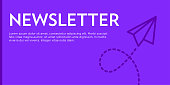 Newsletter Flat Web Banner
