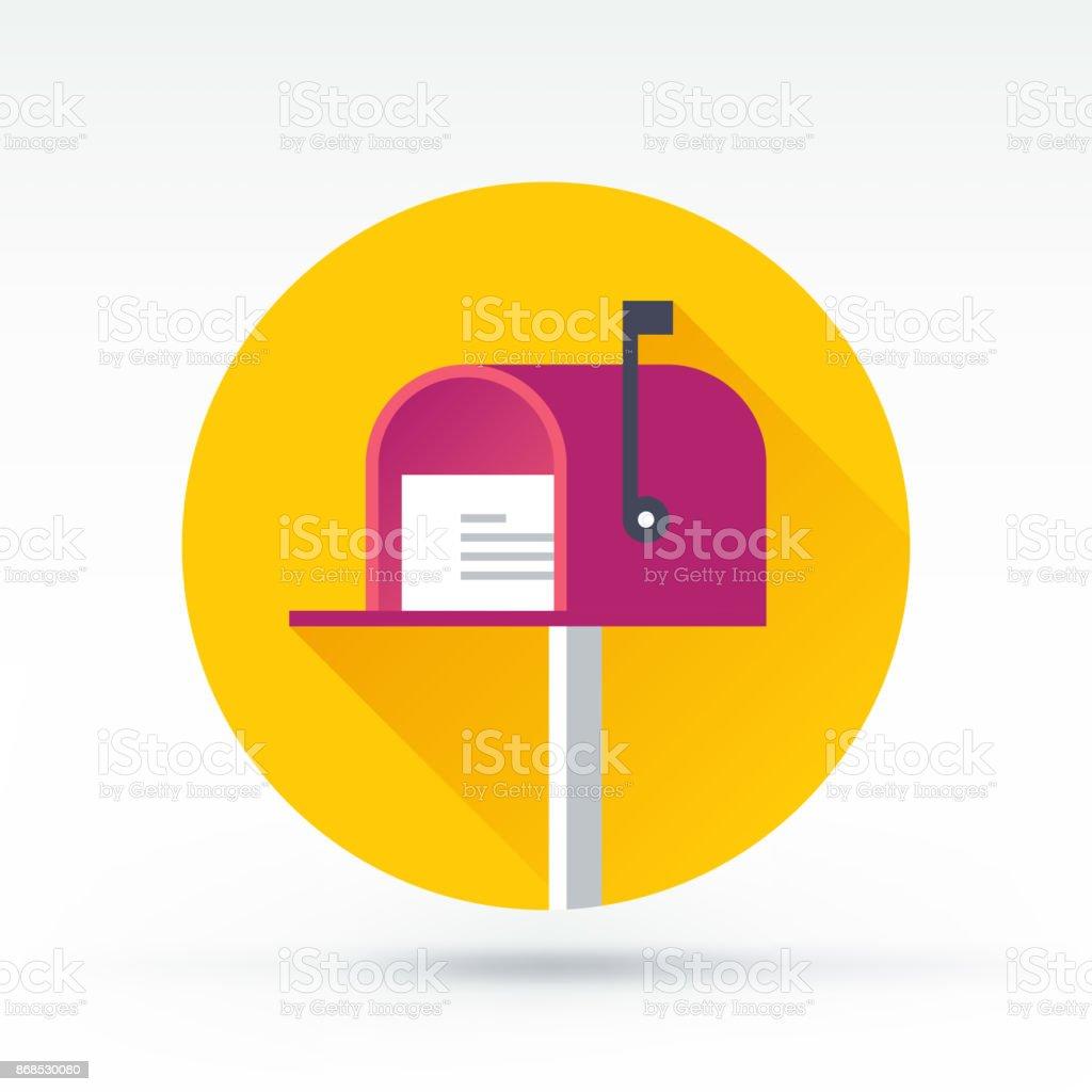 Newsletter-Symbol – Vektorgrafik