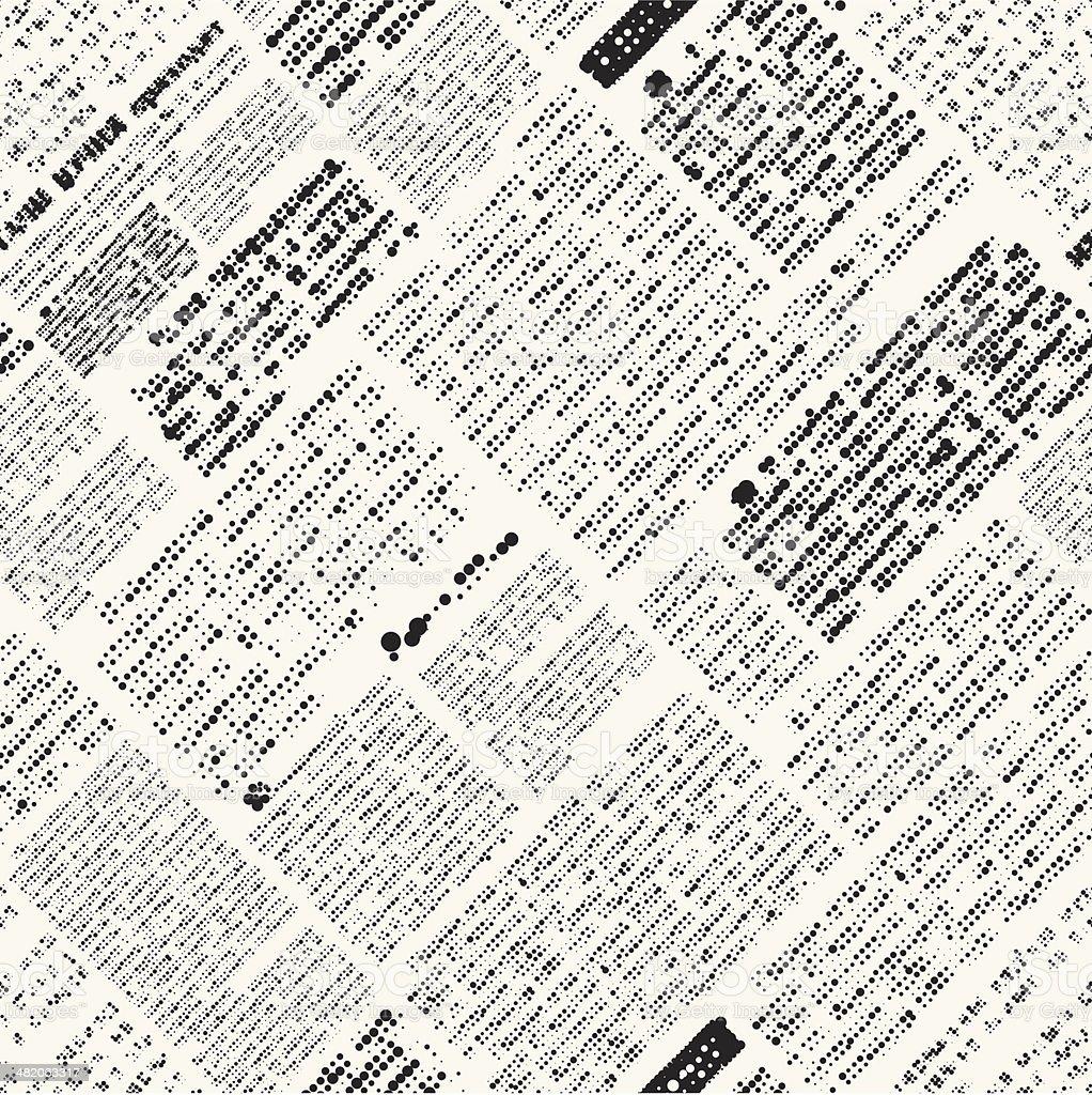 Newspaper imitation vector art illustration