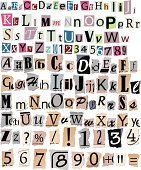 istock Newspaper letters and numbers 458802955