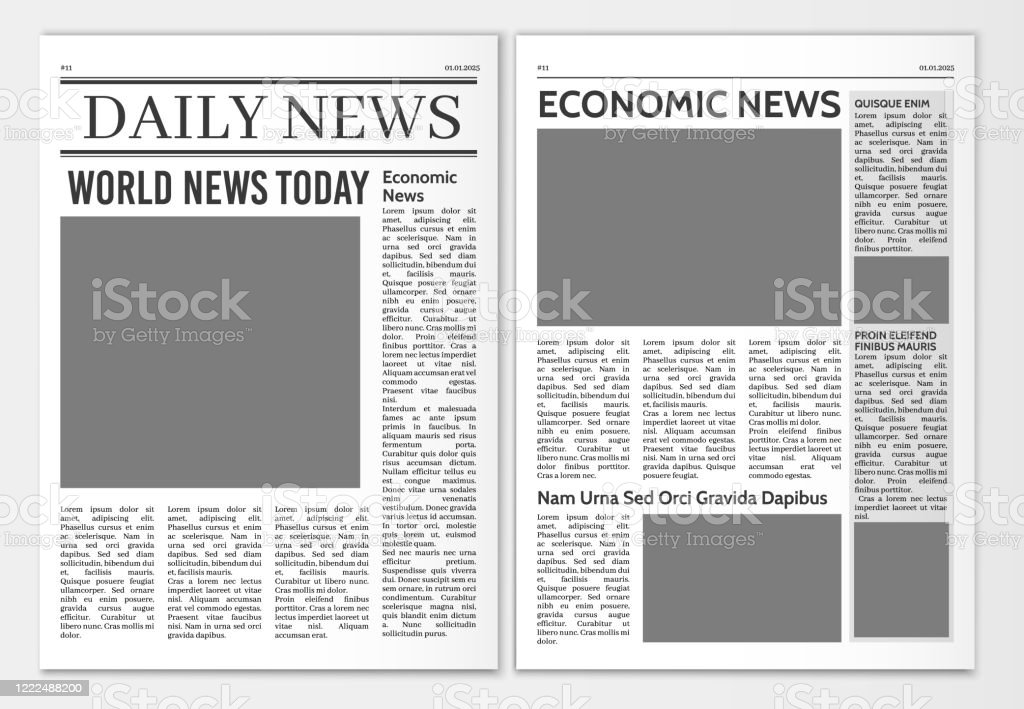 Tabloid Article Template from media.istockphoto.com