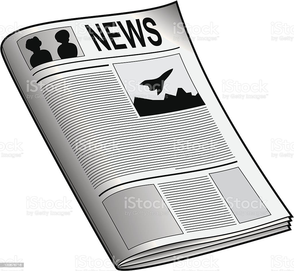 Newspaper royalty-free newspaper stock vector art & more images of article
