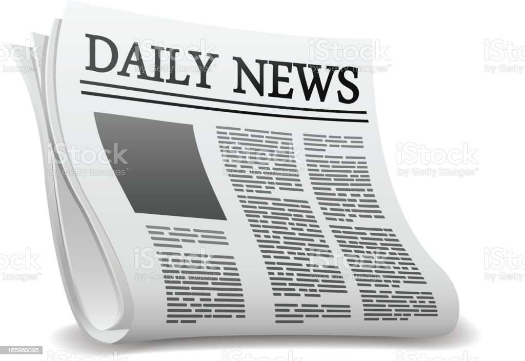 royalty free newspaper front page clip art vector images rh istockphoto com newspaper victoria tx newspaper victoria bc