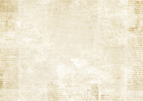 Newspaper with old grunge vintage unreadable paper texture background clipart