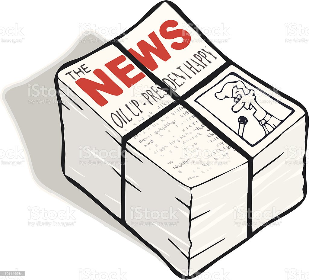 Newspapers royalty-free newspapers stock vector art & more images of broadsheet