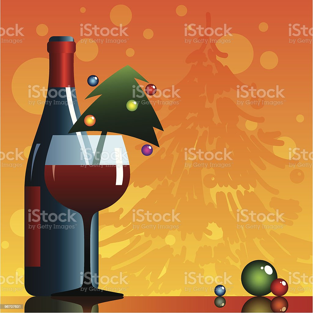 newyear vine royalty-free stock vector art
