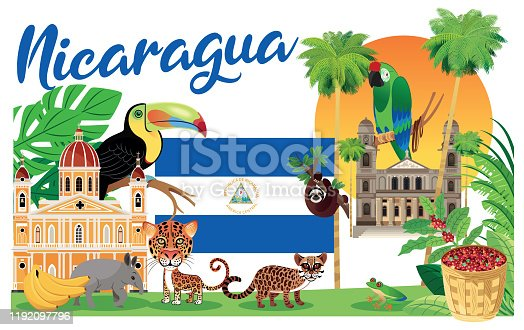 istock Nicaragua, Managua, Leon, Masaya, Chinandega, Matagalpa, Esteli, Granada, Jinotega, El Viejo, New Guinea, Sandino City, Juigalpa, Tipitapa, Bluefields, Diriamba, Ocotal, Puerto Cabezas, Chichigalpa, Rivas, 1192097796