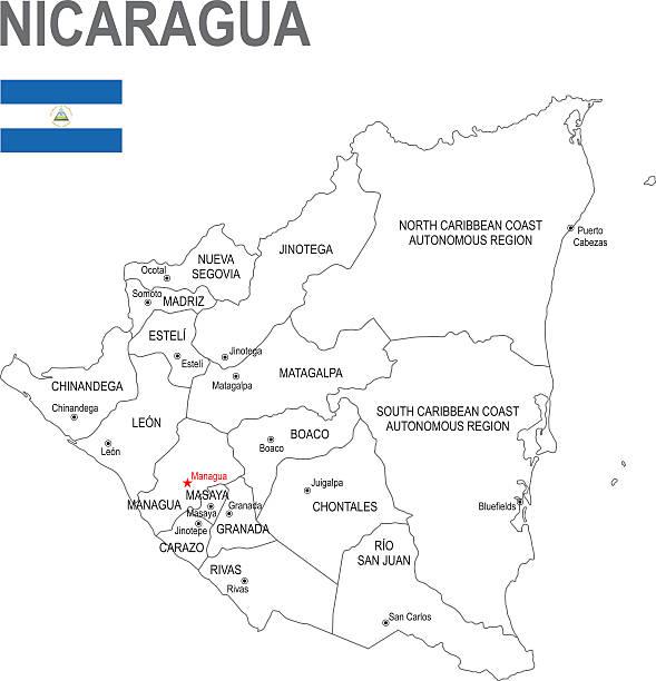 nicaragua - managua stock-grafiken, -clipart, -cartoons und -symbole