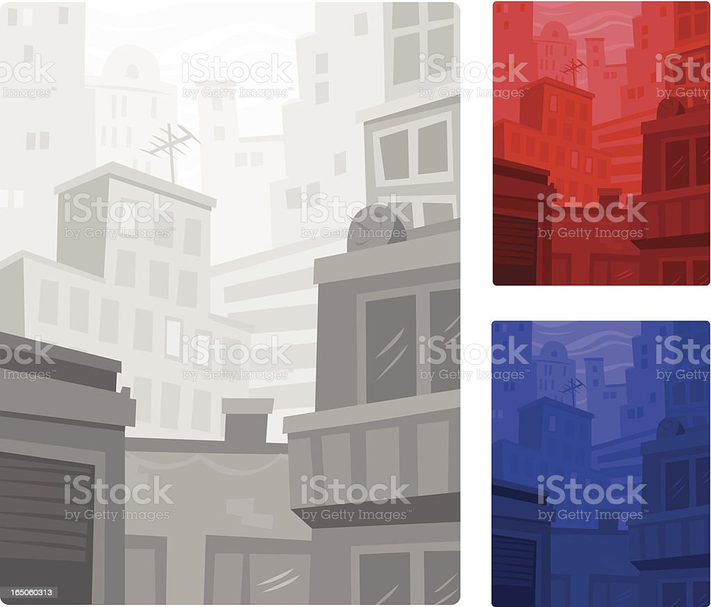 Nice city royalty-free stock vector art