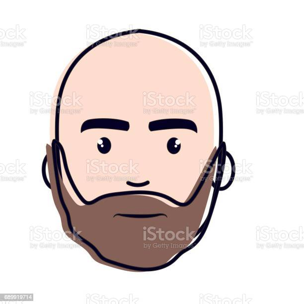 Bart mode mit glatze 9 schöne
